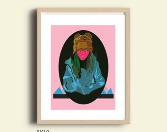 Teen room decor, printable poster, cool posters, printable cool poster, hipster art, dorm decor, dorm room art, hipster decor, trendy art