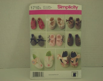 Simplicity Baby Shoes Pattern