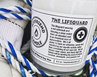 The Lifeguard - Boyfriend Candle