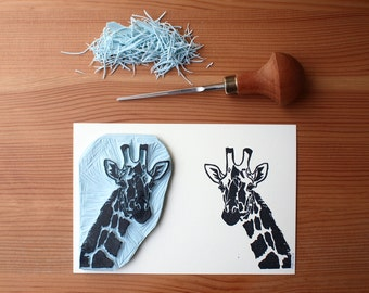 The Giraffe - Original Handprint