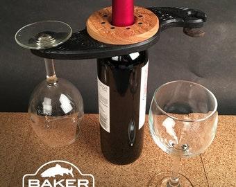 Personaized Wine Glass Holder Wedding Gift