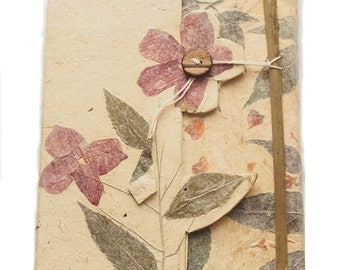 Wildpetal Wildflower Pressed Flower Journal