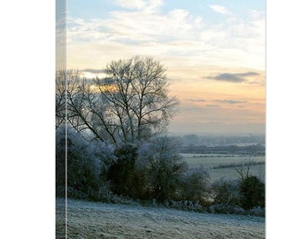 A Winters Dawn Canvas Print