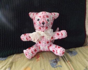 Hello Kitty design stuffed cat