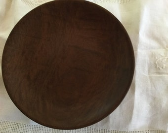 Solid Myrtlewood Plate