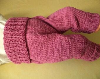 Baby pants 44/50 Merino Wool premature babies premature babies knitted pants baby wool