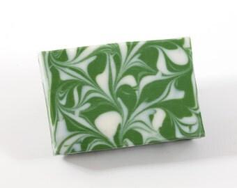 Natural handmade shea butter soap: Herb Garden