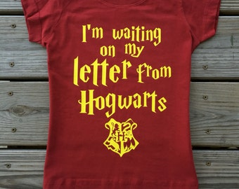 I'm Waiting on My Letter From Hogwarts Harry Potter shirt