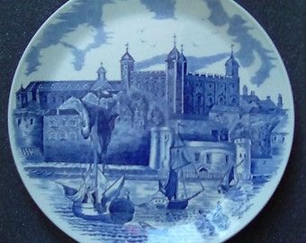 Vintage 900th Anniversary of the Tower of London Plate 1078 - 1978 - Johnson Brothers