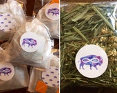 Organic Chamomile Flowers and Lemon Grass Tea // Herbal Tea // Calming Tea // Native Craft Stocking Stuffers