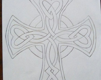 Celtic cross for kids