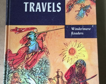 1954 Gulliver's Travels Book. Windermere Readers Childrens' Book by Jonathan Swift
