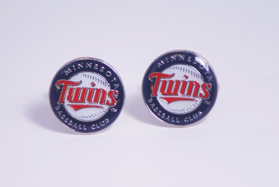 Minnesota Twins Cuff Links -- FREE SHIPPING with USPS First Class Domestic Mail