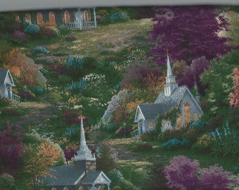 Thomas Kinkade Spring Chapel