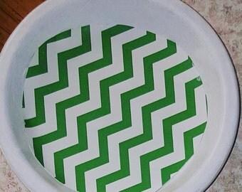Customized terra cotta coasters