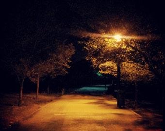 Summer night sadness