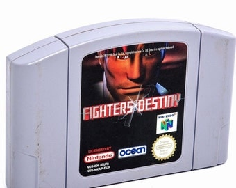 FIGHTERS DESTINY Nintendo 64 game cartridge