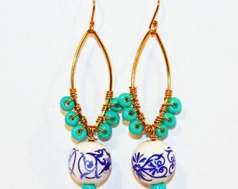Helen of Troy earrings