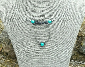 """ethnic trends """"surgical"""" steel necklace"""