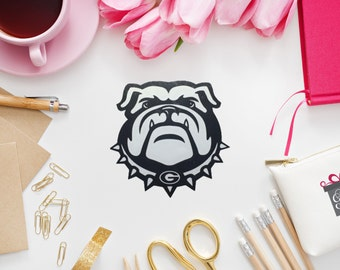 UGA, Georgia, Georgia Bulldogs, Yeti Decal, Car Decal, Vinyl Decal, Laptop Decal, iPhone Decal, iPad Decal
