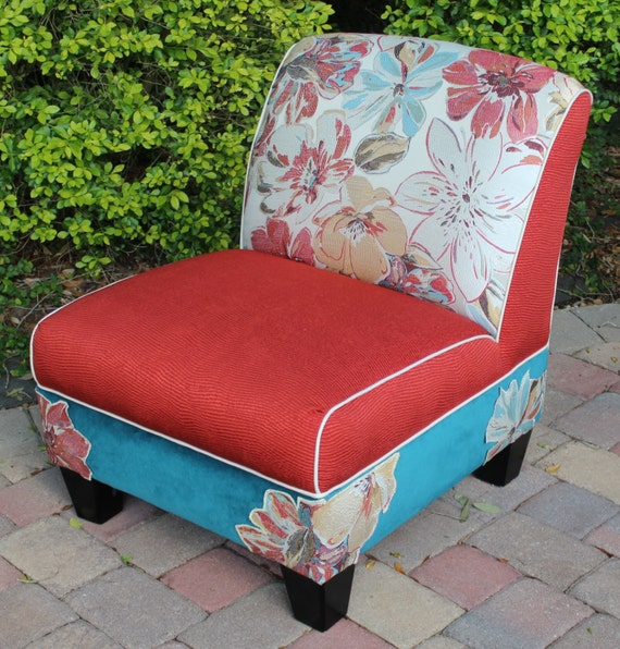Romantic And Charming Unique Accent Chair By NuevoSol On Etsy