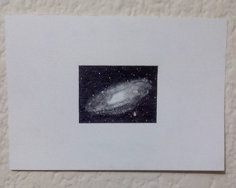 Andromeda Galaxy Drawing
