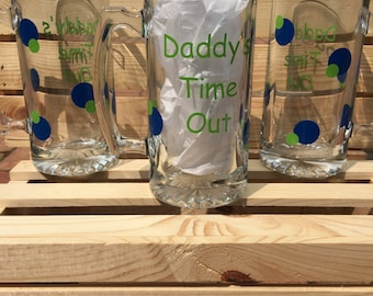 Daddys Time Out Beer Mug