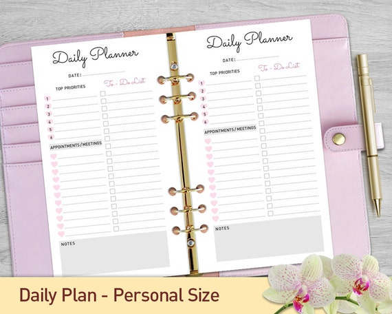 Massif image with printable planner inserts