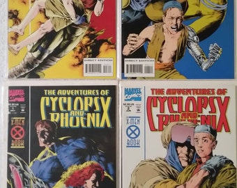 Adventures of Cyclops & Phoenix, #1-4 (Marvel 1994)