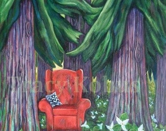 Forest Giclee Print