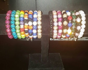 Bracelets to complement your rustic cuff stack. Listing is for 1 customized color.