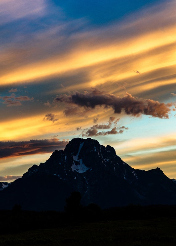 No. 035 | Teton sunset moran art wall photo print 8x10 11x14 16x20 gift present holiday christmas best top popular selling seller sale