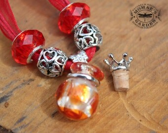 Aroma-therapy Necklace with your choice essential oil blend