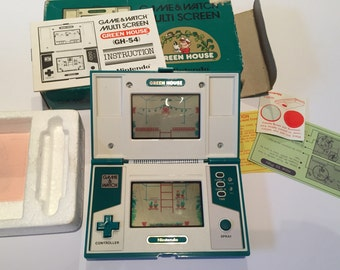 Nintendo Game and Watch Greenhouse Hand Held Game