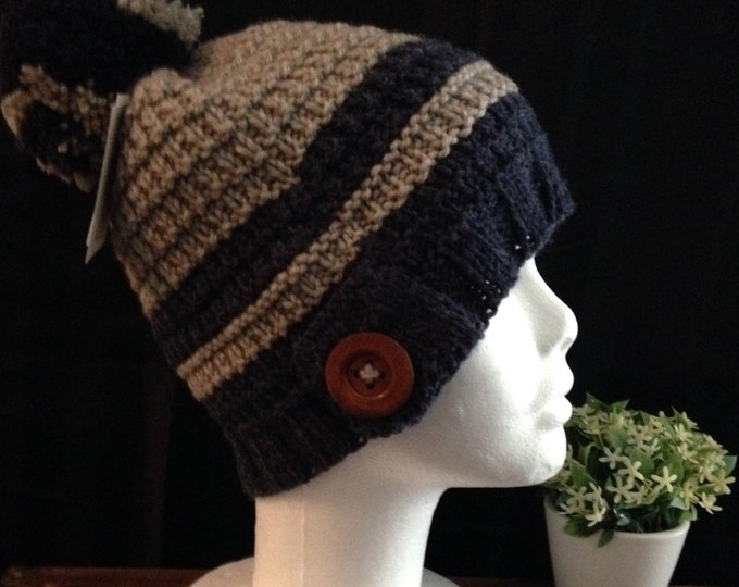 Woman hat, wool and wool acrylic