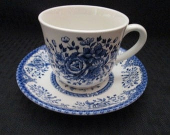 Wood & Sons Fine Tableware Cup and Saucer