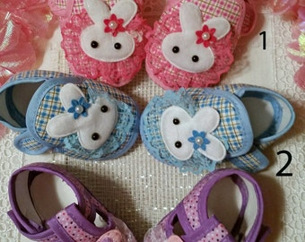 FREE SHIPPING !!!!  ......Baby Girl Shoes, Reborn Shoes, Baby Shoes, Purple baby shoes,  Baby gift