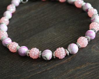 Girls sparkle necklace (Multiple colors)