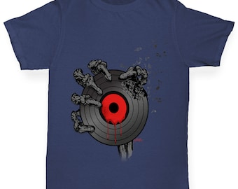 Boy's Vinyl Bones T-Shirt