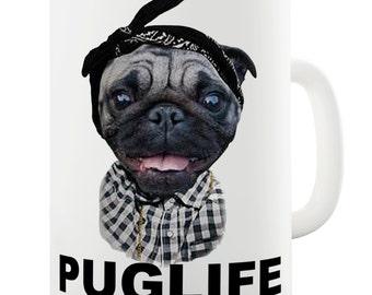 Gangster Pug Etsy