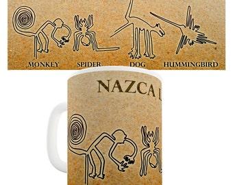 Nazca Lines Of Peru Ceramic Funny Mug