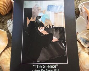 "Artwork ""The silence"" Postcard"