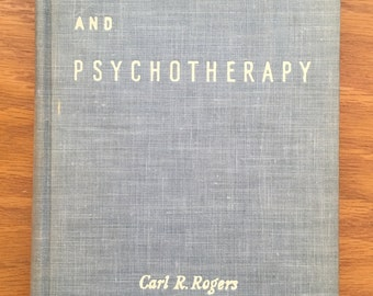Counseling and Psychotherapy by Carl R. Rogers, 1942