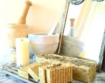 Organic Lavender Honey-N-Oats Soap