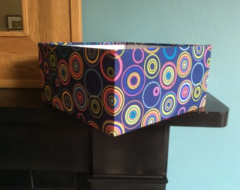 30cm square ceiling/table lampshade
