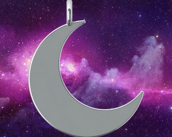 Crescent Moon - Pendant Only