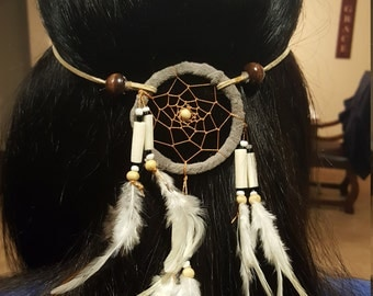 Hippie, dream catcher, feathers headbands