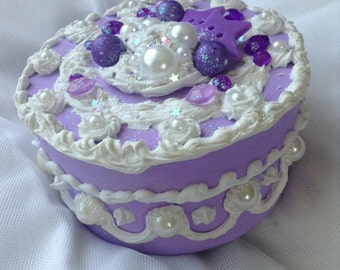 Purple Duel Star CakeBox