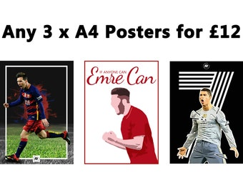 Buy any 3 A4 prints for just 12.00