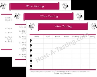 Wine Tasting Party Pack